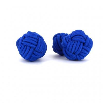 Gemelos Bola Grande Azul Marino