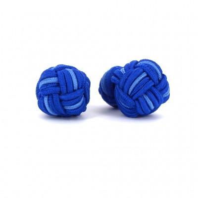 Gemelos Bola Grande Tonos Azules
