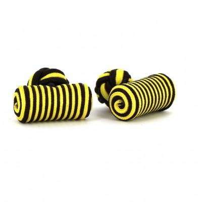 Gemelos Barril Amarillo y Negro