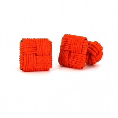 Gemelos Cuadrado Naranja