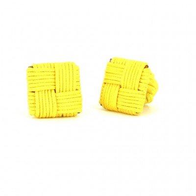 Gemelos Cuadrado Amarillo