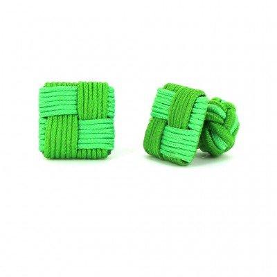 Gemelos Cuadrado Verde y Verde Claro