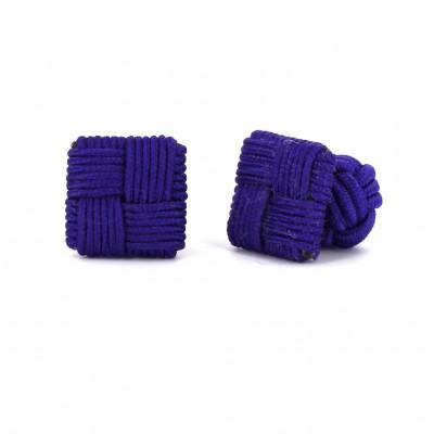 Gemelos Cuadrado Púrpura