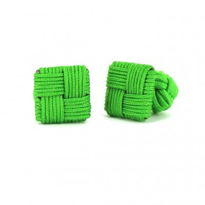 Gemelos Cuadrado Verde