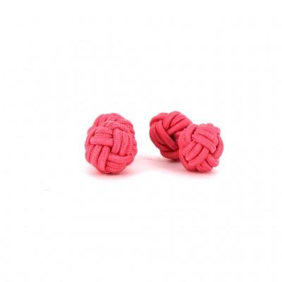 Gemelos Doble Bola Rosa Coral
