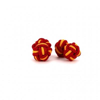 Gemelos Doble Bola Rojo y Amarillo