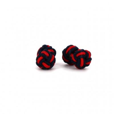 Gemelos Doble Bola Negro y Rojo