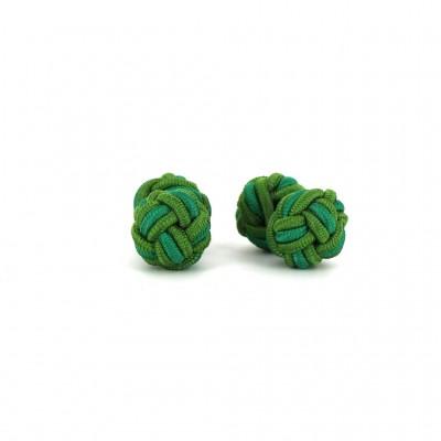 Gemelos Doble Bola Verdes Bosque y Oscuro