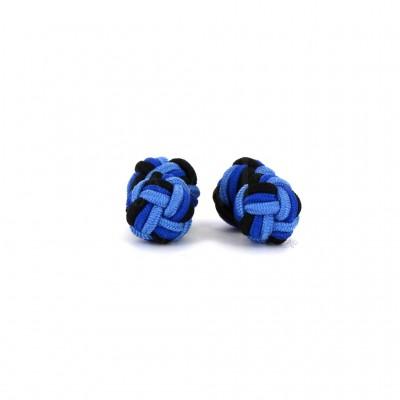 Gemelos Doble Bola Celeste, Azul y Negro