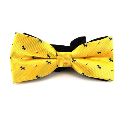 Pajarita Perros Amarilla