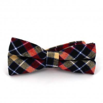 Pajarita de Cuadros Escoceses Multicolor