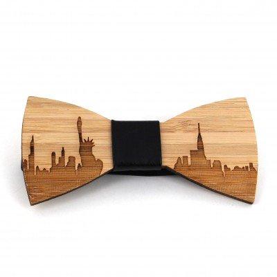 Pajarita Bambú Skyline Nueva York