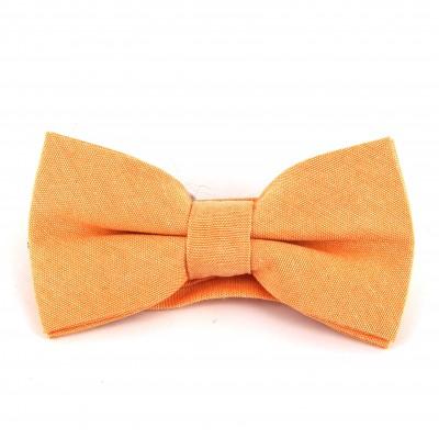Pajarita Lisa Oxford Naranja
