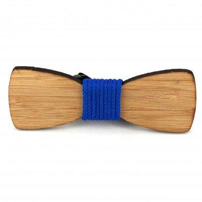 Pajarita Bambú Cordón Azul
