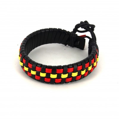 f3298294961b Pulsera Cuero Bandera España| Cravatta World