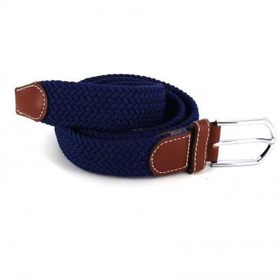 compra genuina últimas tendencias de 2019 60% de liquidación Cinturón Elástico Azul Marino | Cravatta World