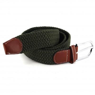 Cinturón Elástico Verde Oscuro