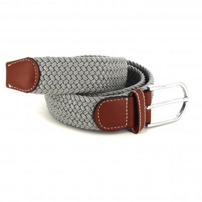 Cinturón Elástico Gris