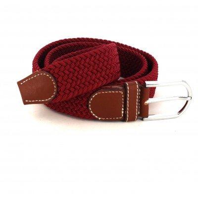 Cinturón Elástico Burdeos