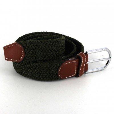 Cinturón Elástico Verde Oscuro I