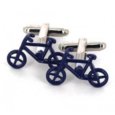 Gemelos Bicicletas Azules