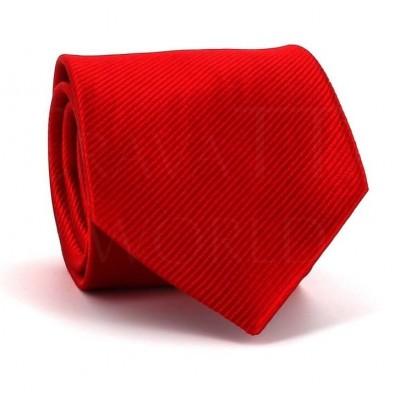 Corbata Lisa Roja