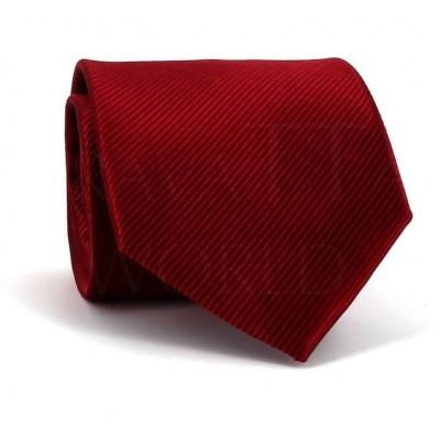 Corbata Lisa Granate