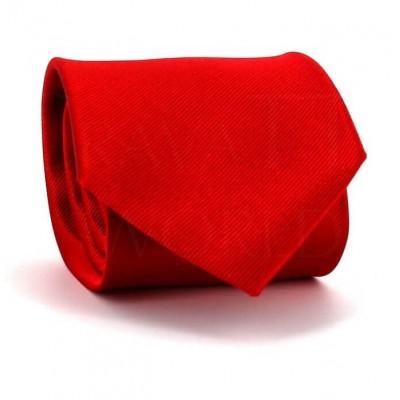 Corbata Lisa Roja MicroTwill