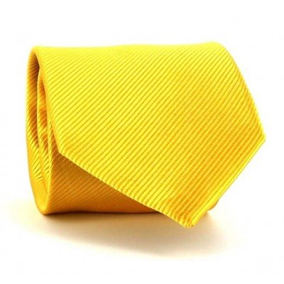 Corbata Lisa Dorada
