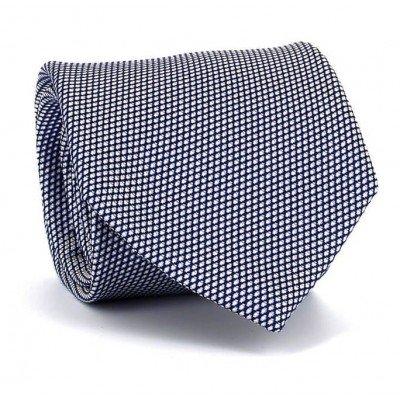 Corbata Ojo de Perdiz Azul Marino