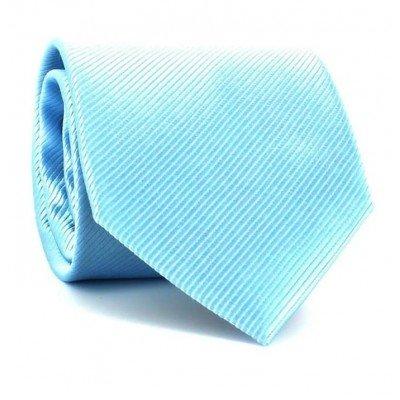 Corbata Lisa Azul Agua