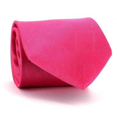 Corbata Lisa Rosa MicroTwill