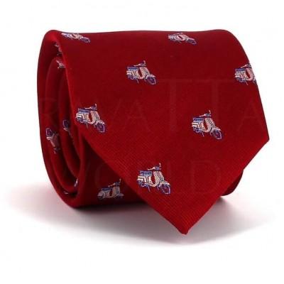 Corbata Vespas Roja
