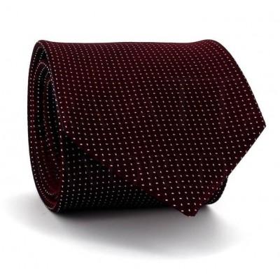 Corbata Motas Granate