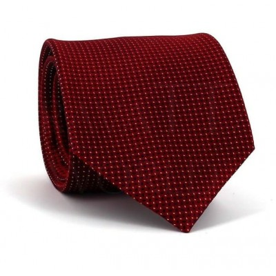 Corbata Motas Roja