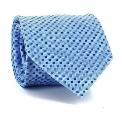 Corbata Cuadritos Azul