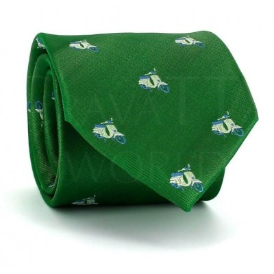 Corbata Vespas Verde