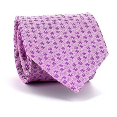 Corbata Peces Rosa