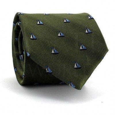 Corbata Verde Veleros