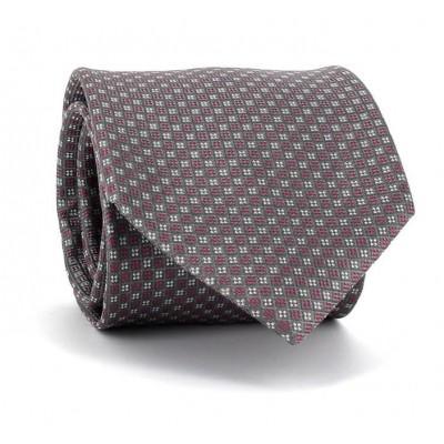 Corbata Cuadritos Gris