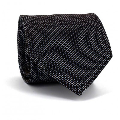 Corbata Motas Marrón