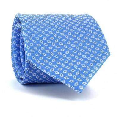 Corbata Rombos Azul