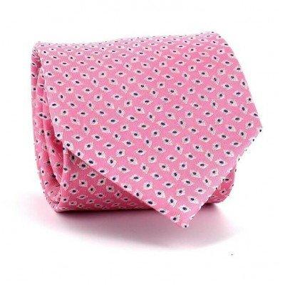 Corbata Rombos Rosa