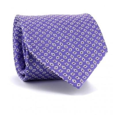 Corbata Rombos Lila