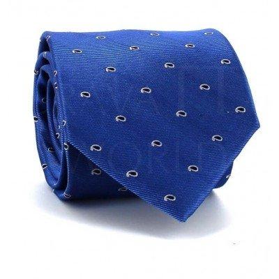 Corbata Paisley Azul