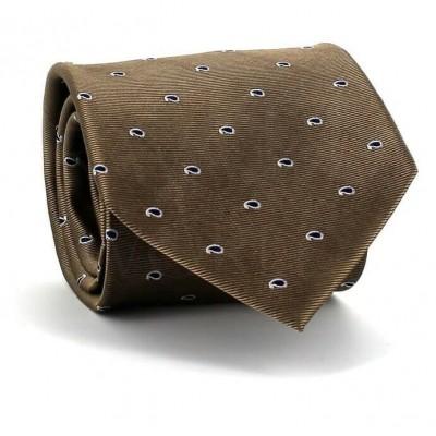 Corbata Paisley Ocre