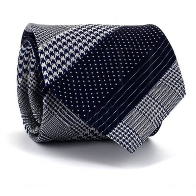 Corbata Formas Variadas Azul