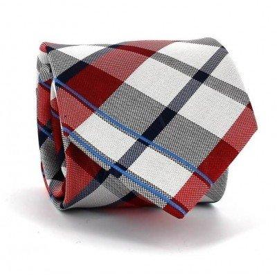 Corbata Cuadros Escoceses Roja II