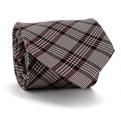 Corbata Principe de Gales Granate