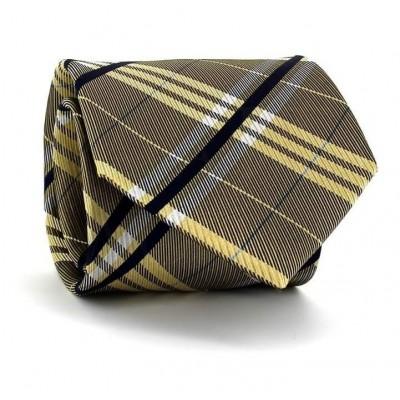 Corbata Cuadros Escoceses Amarilla